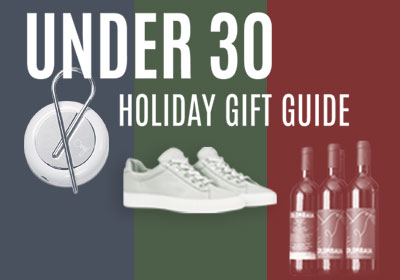 Under 30 Holiday Gift Guide