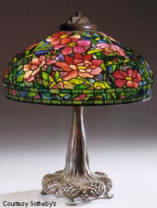 collecting tiffany lamps. Black Bedroom Furniture Sets. Home Design Ideas