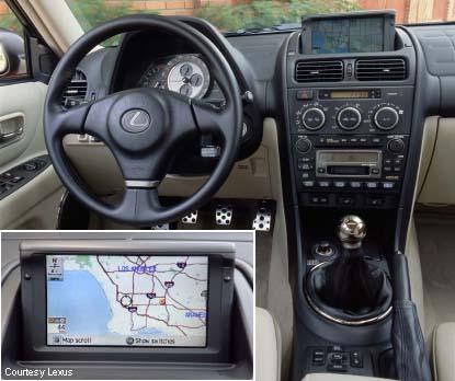 Lexus IS300 Manual