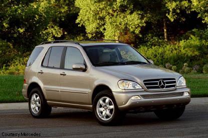 Mercedes benz ml500 for Mercedes benz suv 2002