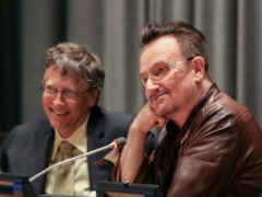 Bill Gates And Bono Talk Philanthropy