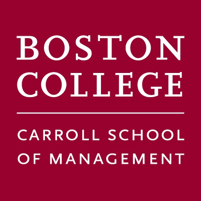 Carroll School Of Management - Carroll School of Management - Forbes - At a Glance. Annual Enrollment: 103; Total Applicants: 759; Percent Accepted: 35  %; Median GMAT: 680; Median Work Experience: 4; In-State Costa: $78,786 ...