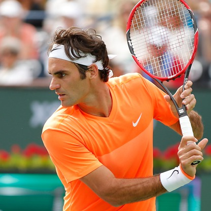 Federer Wins All-Swiss SF In Rome