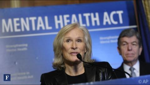 Glenn Close Takes On Mental Illness