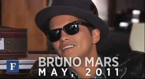Bruno Mars A Forbes Flashback