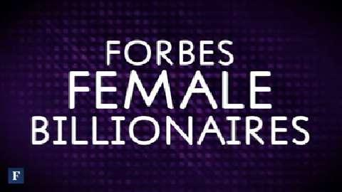 Forbes 2014 Top Female Billionaires