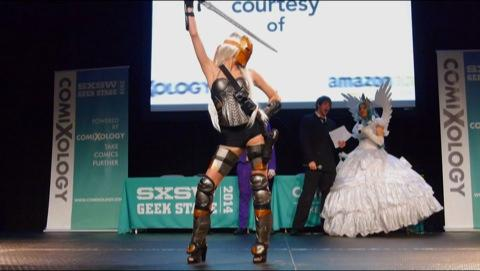 Cosplay Nerdgasm At SXSW Geek Stage