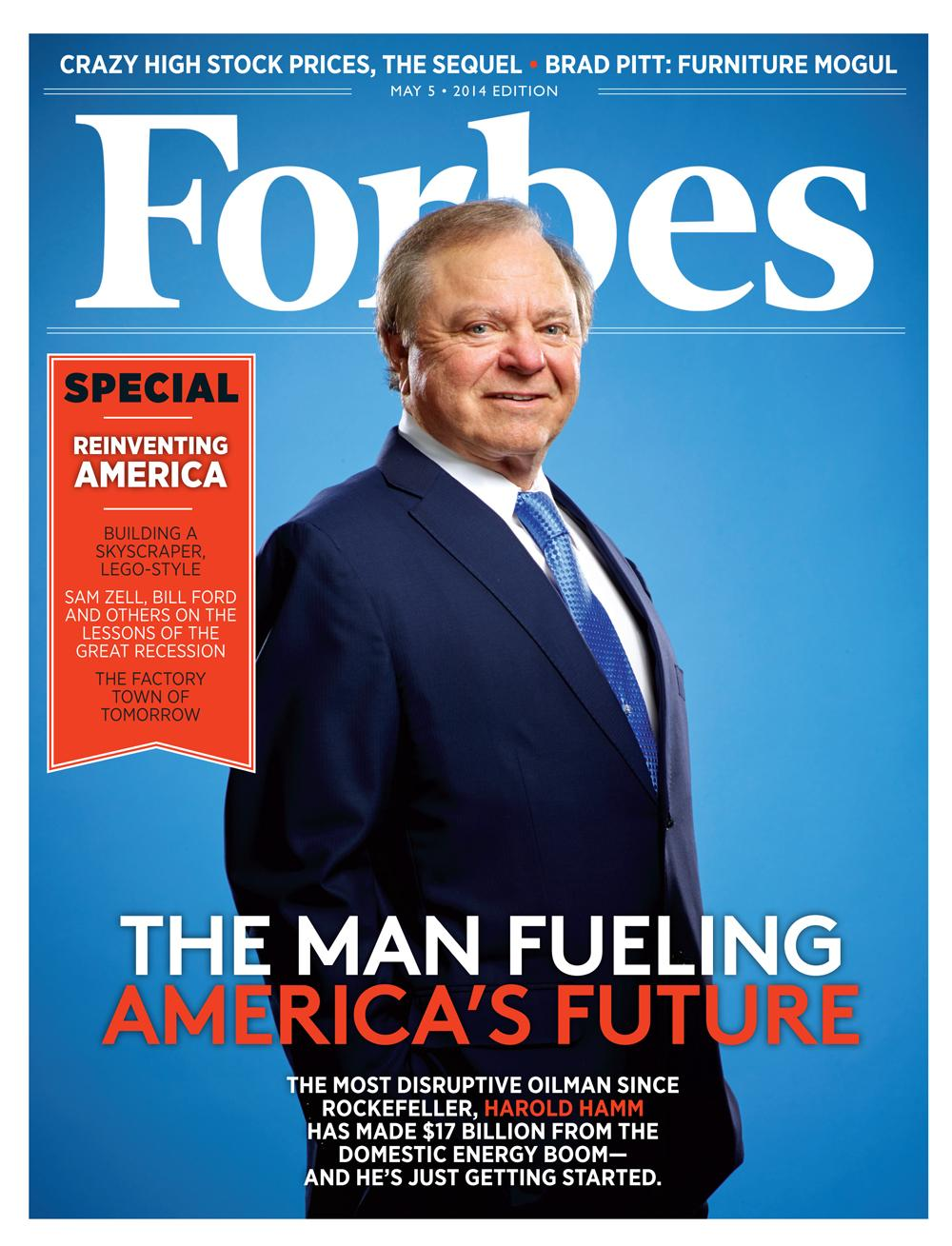 Inside The Issue: Reinventing America