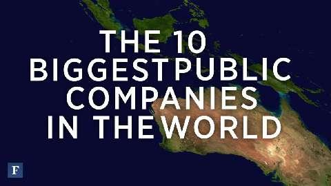 The Top 10 Largest Public Companies 2014