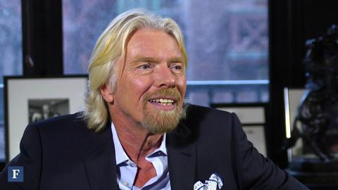 Richard Branson's Push For Alternative Energy