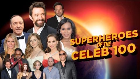 Superheroes Of The Celeb 100