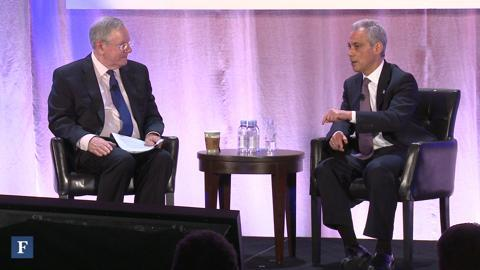 Chicago Mayor On Public Vs. Private Sectors