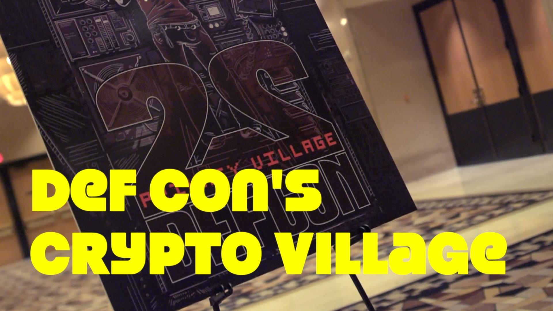 The Crypto Village of Def Con 22