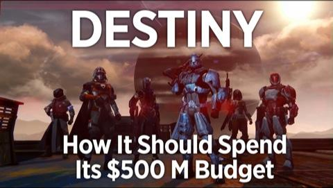 How Destiny Should Spend Its $500M Budget