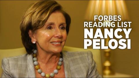 Nancy Pelosi's Reading List