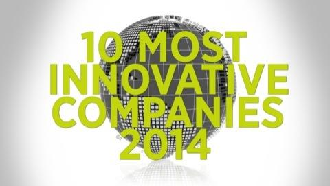 Top 10 Most Innovative Companies 2014