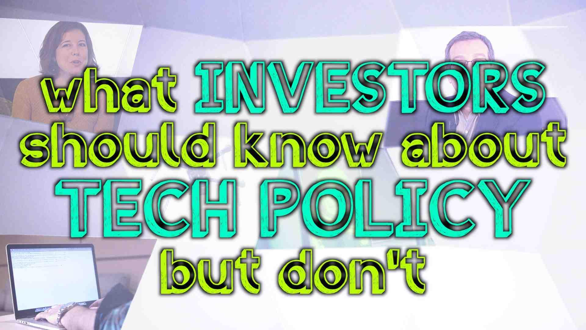 VC/DC: What Investors Should Know About Tech Regulation but Probably Don't