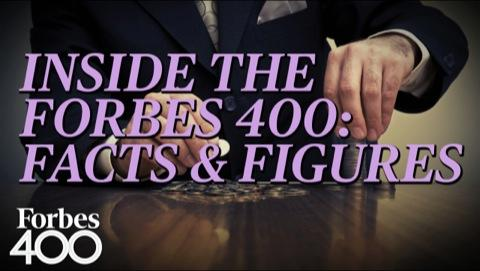 Inside The Forbes 400: Facts & Figures