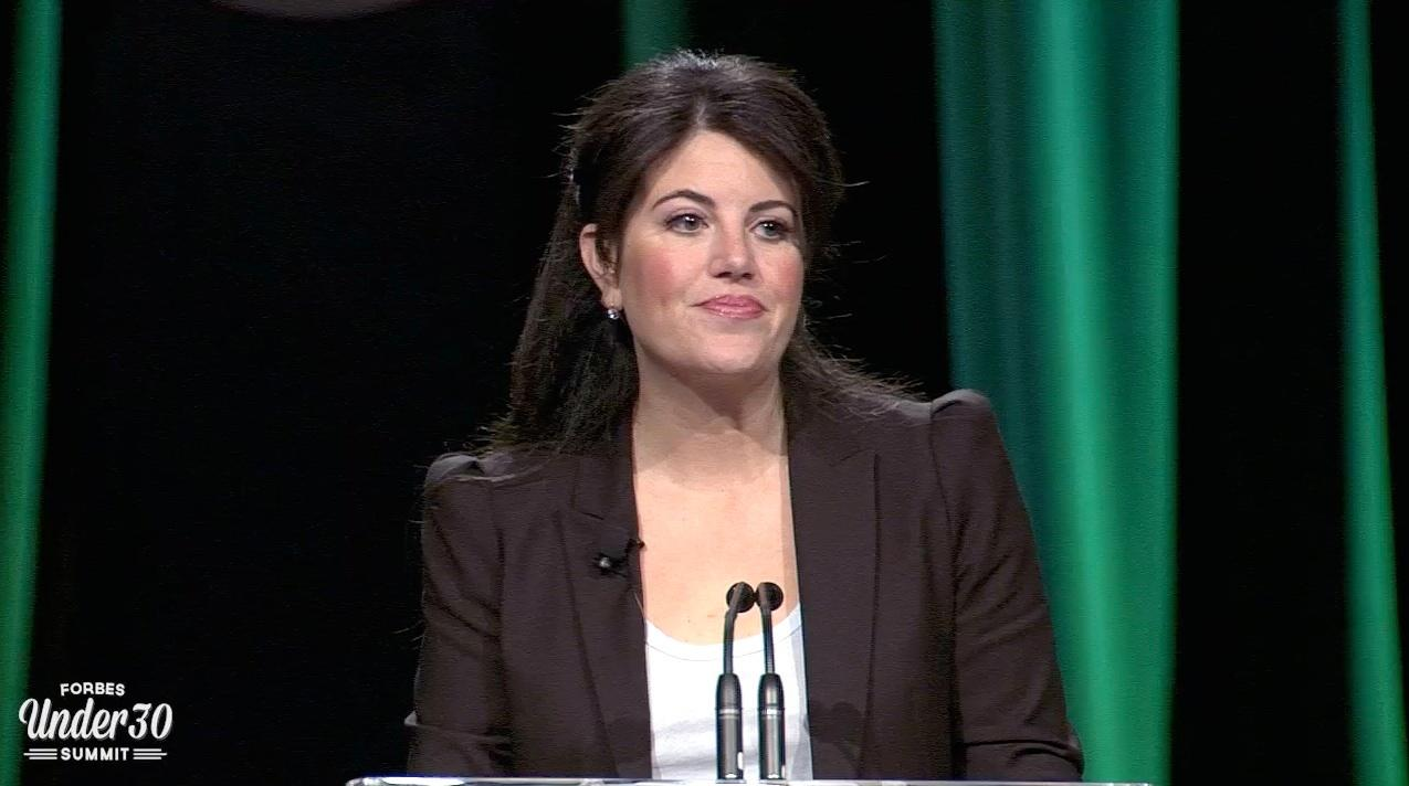 Monica Lewinsky On The Internet's Reputation Shredder
