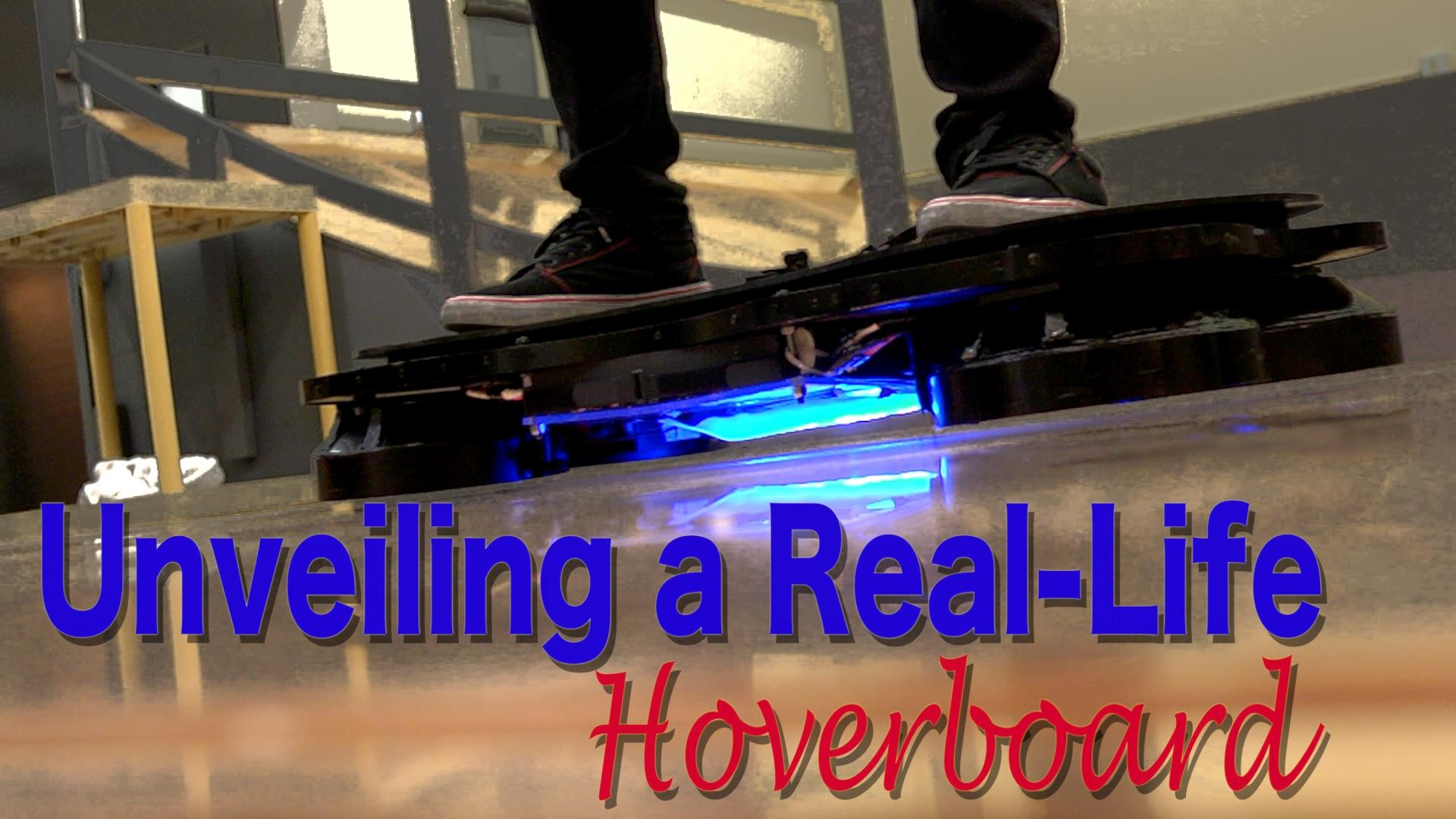 Unveiling a Real-Life Hoverboard