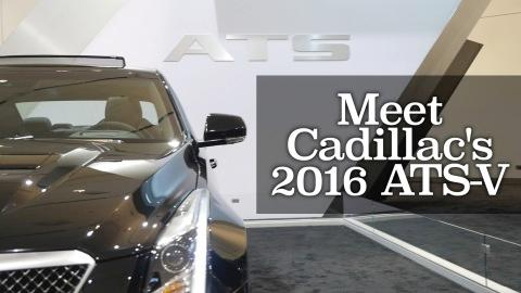 Meet Cadillac's 2016 ATS-V