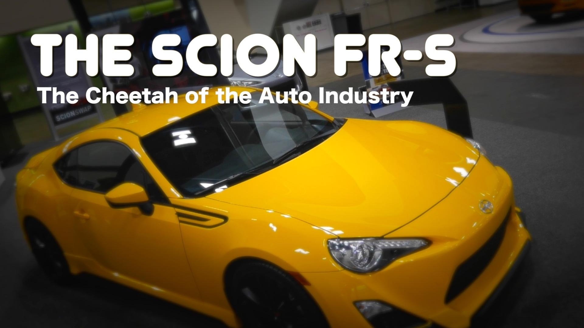 The Scion FR-S: The Cheetah Of The Auto Industry