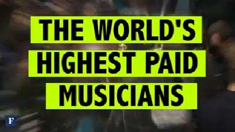The World's Highest-Paid Musicians of 2014