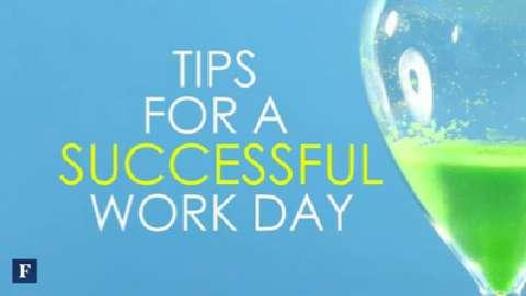 FORBES In 60 Seconds: Tips For A Successful Work Day