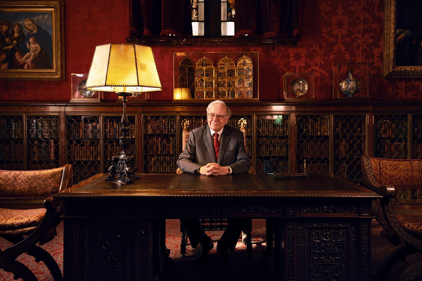 Behind The Photo: Warren Buffett At J.P. Morgan's Desk