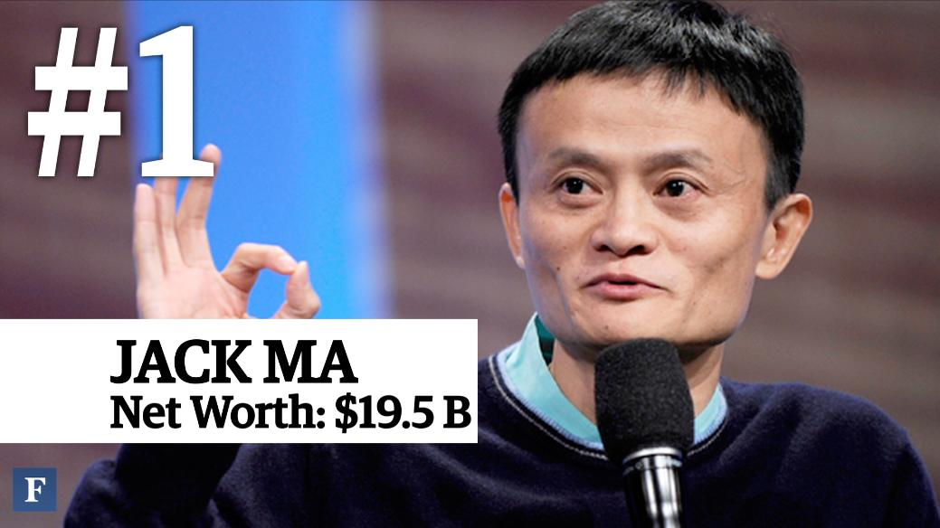 The Top 10 Richest People In China