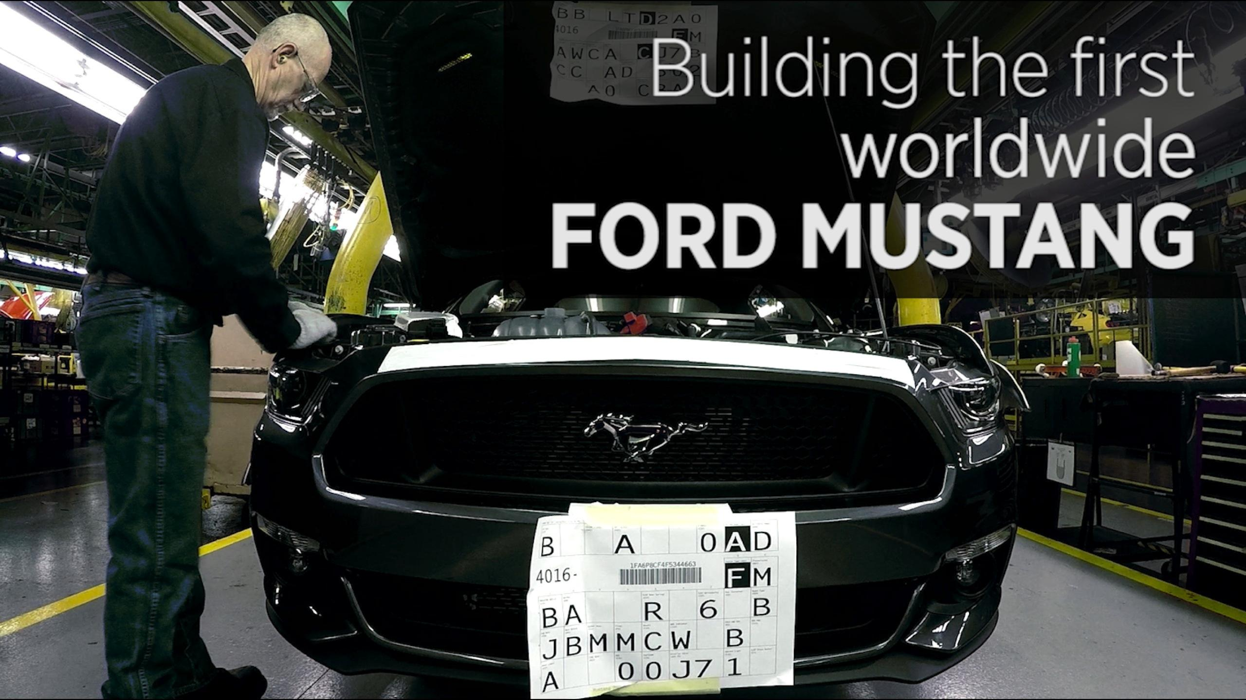 Building The First Worldwide Ford Mustang