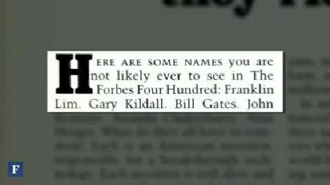 Bill Gates: A Look Back in Forbes Magazine