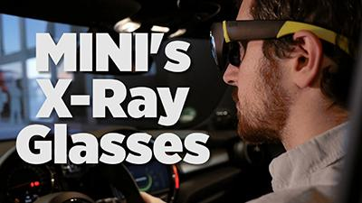 MINI's X-Ray Glasses: VR For Driving