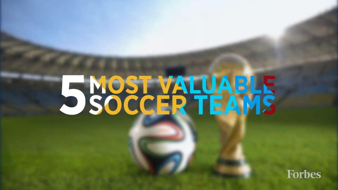 The World's Most Valuable Soccer Teams