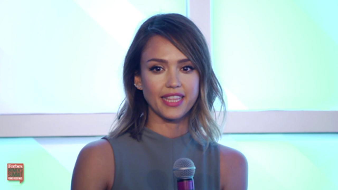 Jessica Alba Keynote Interview: Forbes Women's Summit 2015