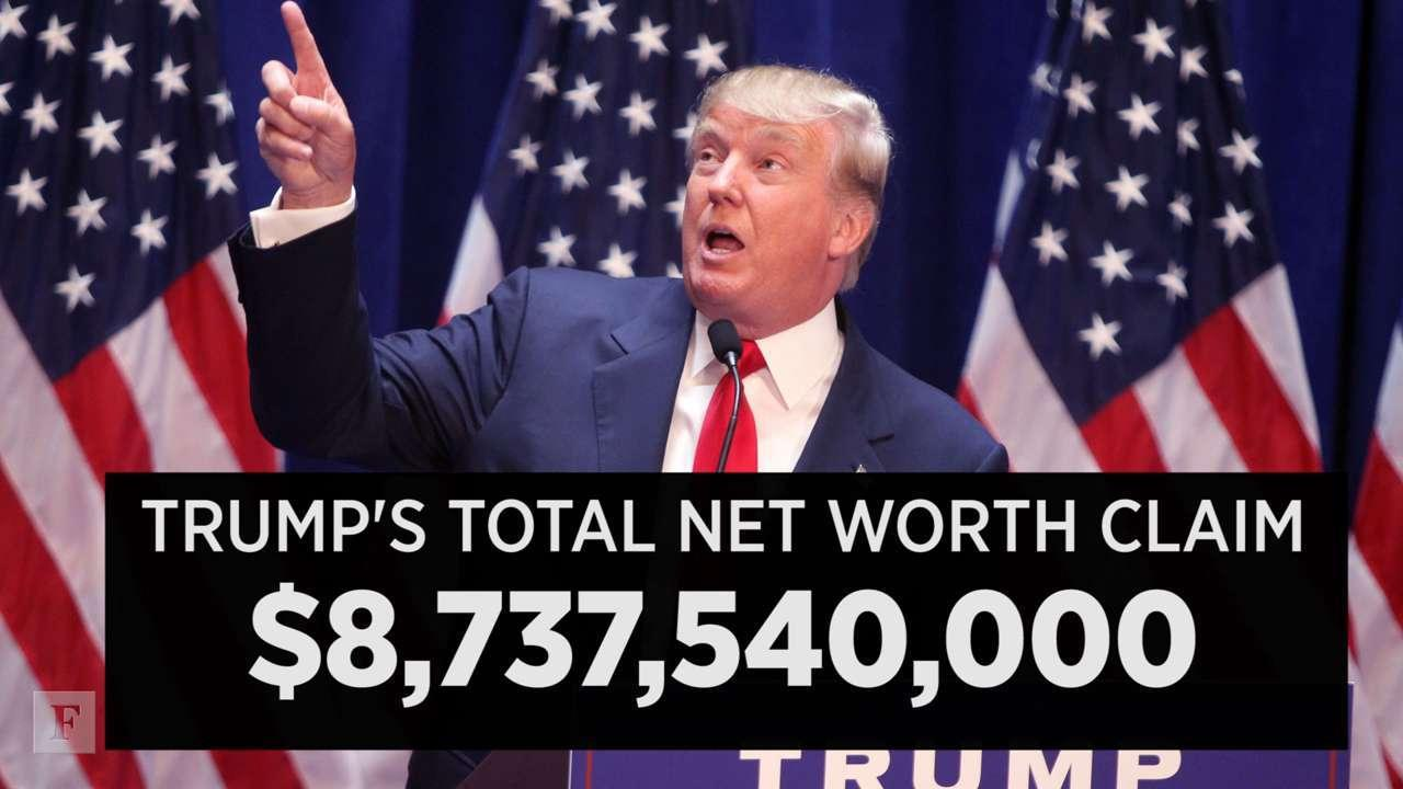 Donald Trump Is Definitely Not Worth $9B