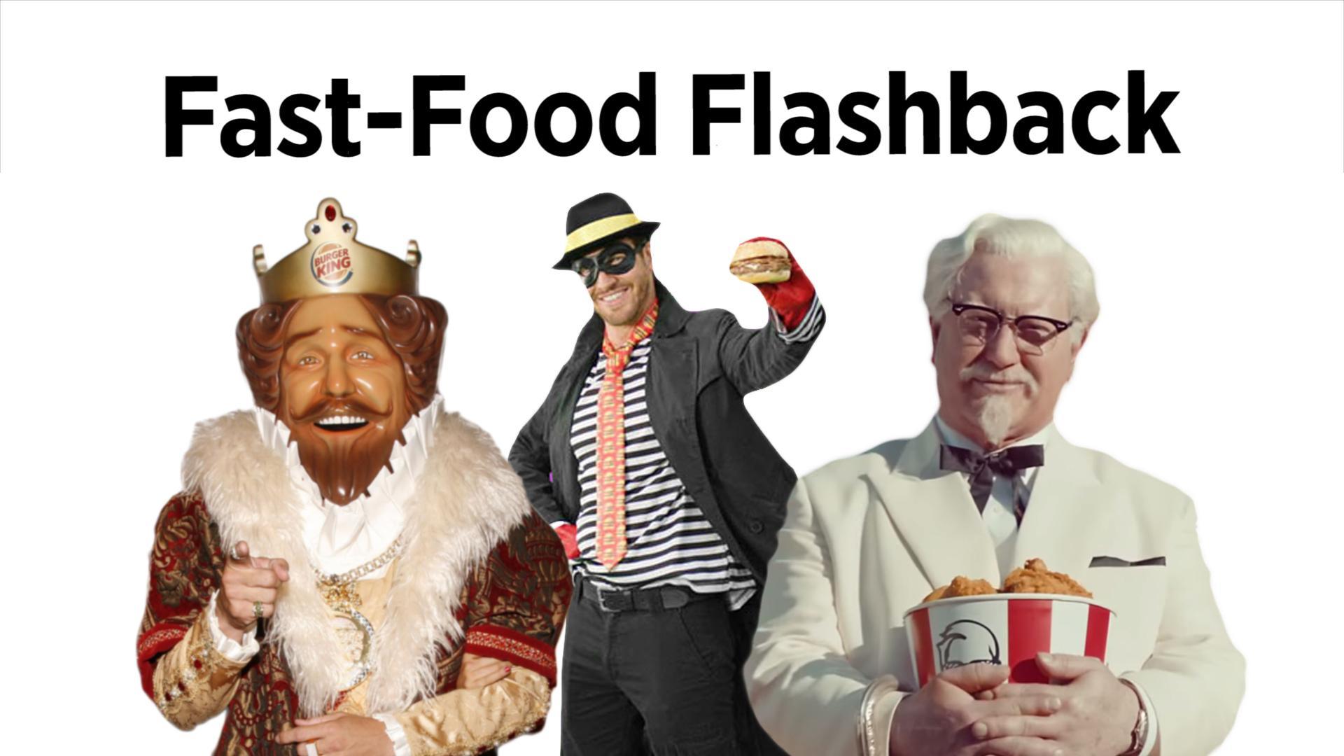 Fast-Food Flashback: Classic Mascots