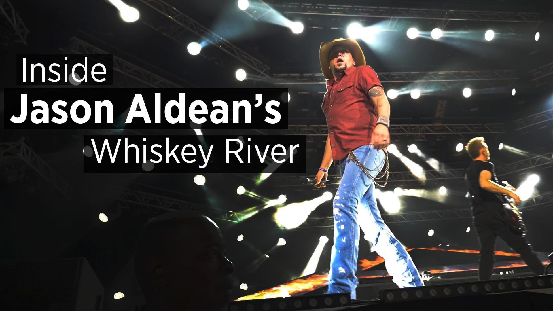 Inside Jason Aldean's Whiskey River