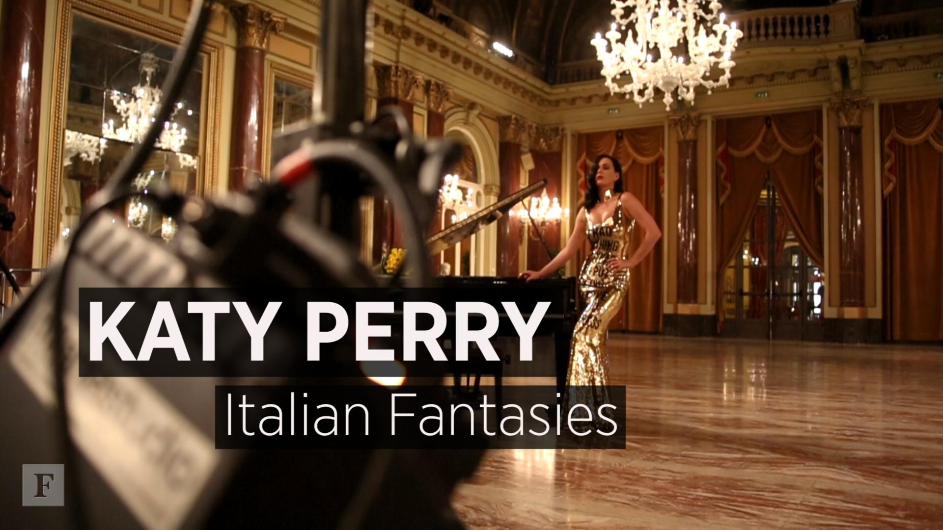 Katy Perry: Italian Fantasies