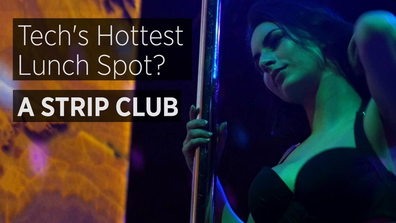 Tech's Hottest Lunch Spot? A Strip Club