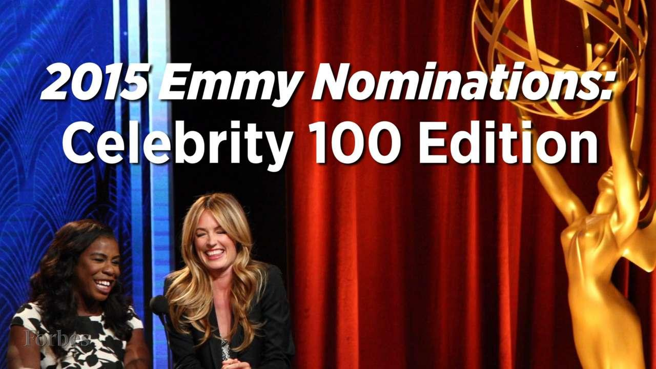 2015 Emmy Nominations: Celeb 100 Edition