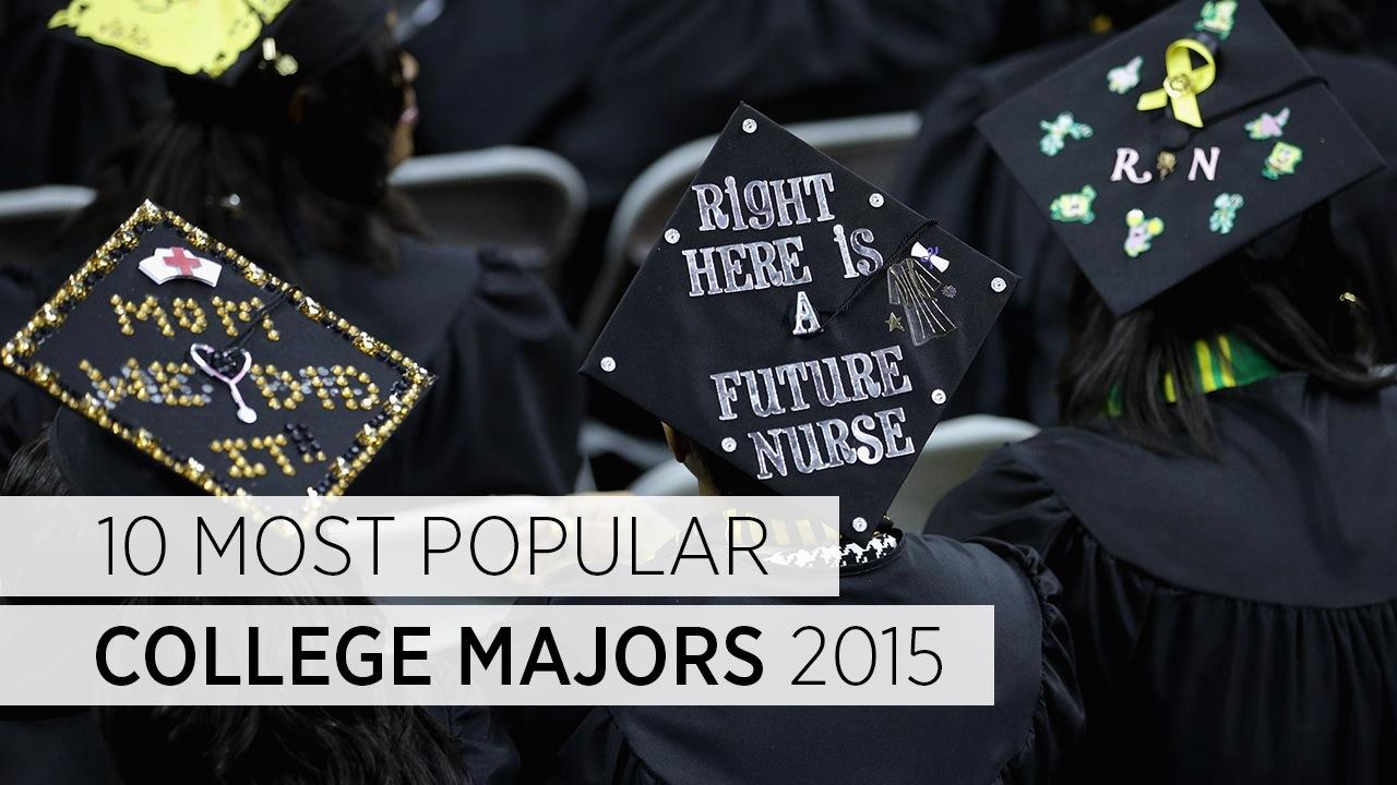 10 Most Popular College Majors