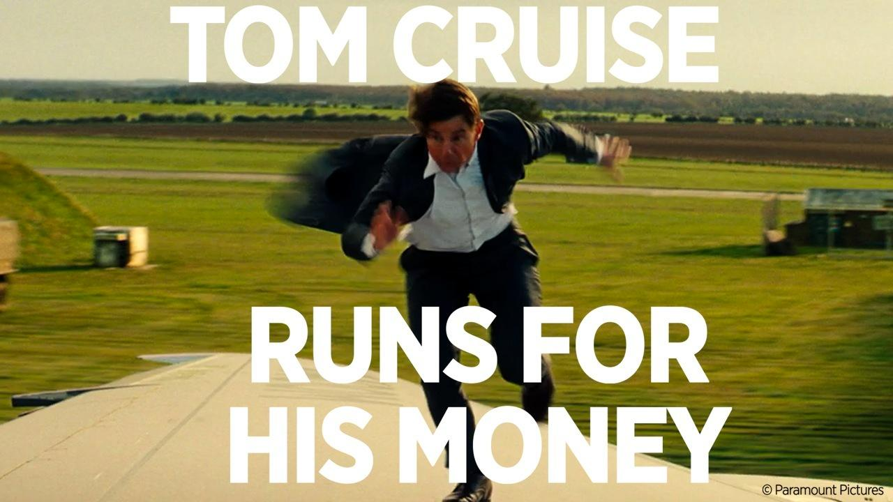Tom Cruise Runs For His Money