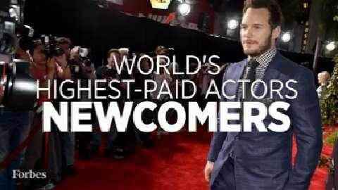 2015's Highest Paid Actors: Newcomers