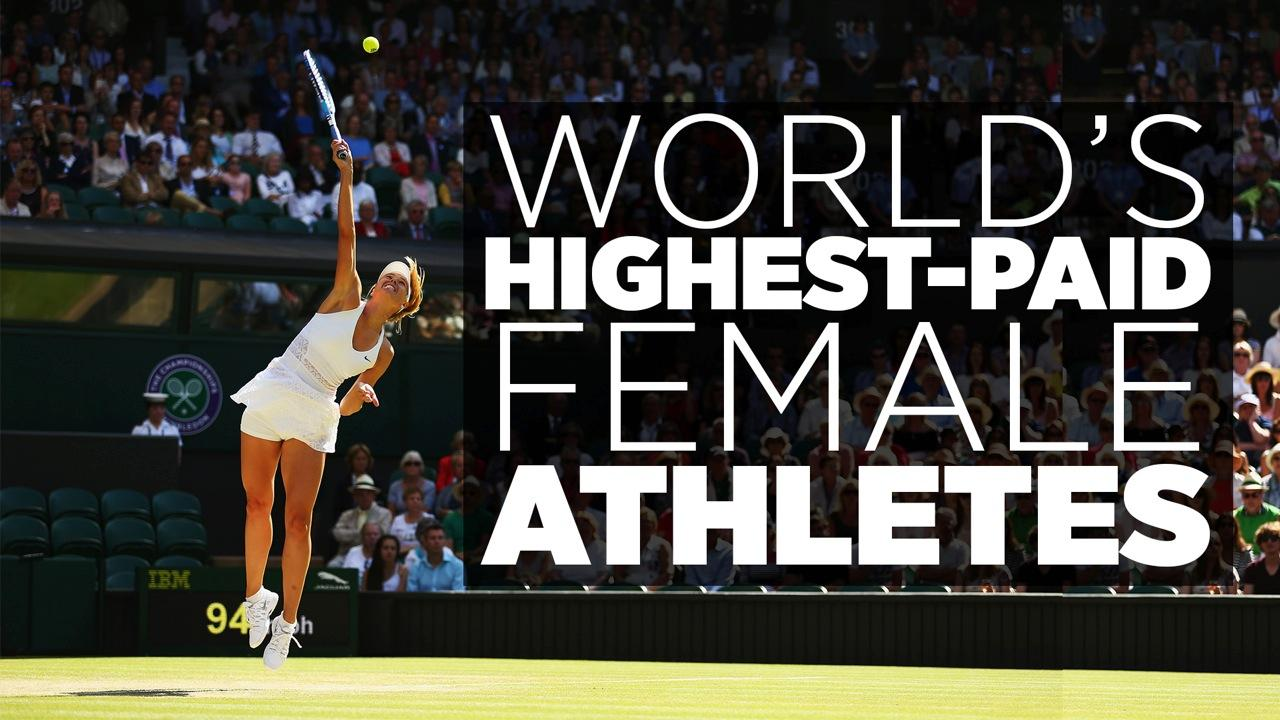 World's Highest-Paid Female Athletes 2015