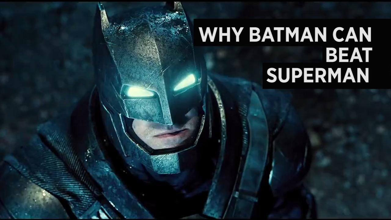 How Batman Can Take Down Superman
