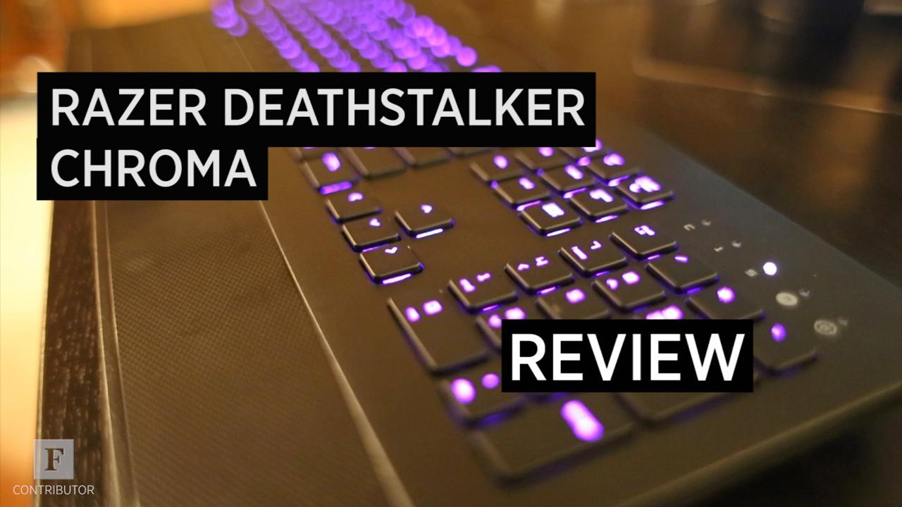 Razer's Deathstalker Chroma Is Slim, Trim and Ready For A Fight