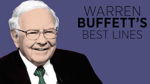 Warren Buffett's Best Lines