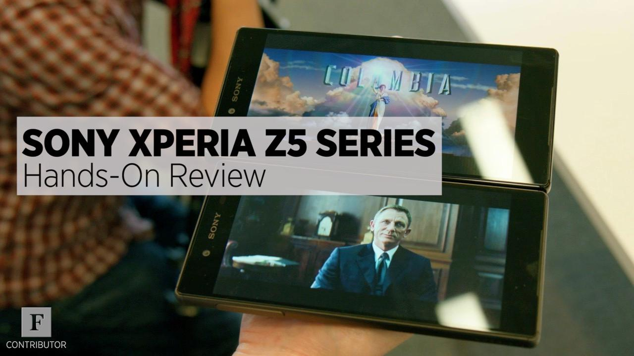 Hands-On With The Sony Xperia Z5 And Z5 Premium