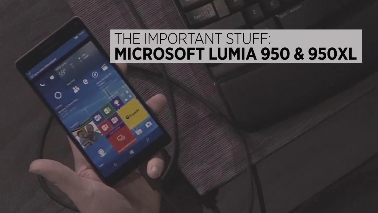Microsoft Lumia 950 & 950XL: The Important Stuff